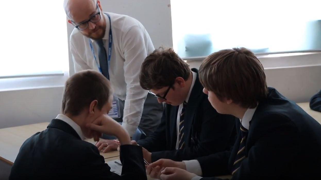 Transforming Lives Kent GCSE Students