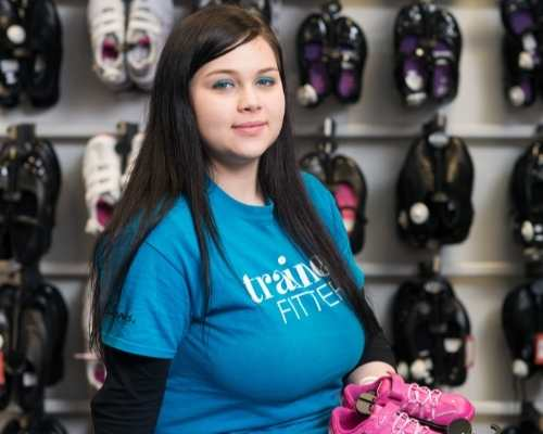 17 year-old Martina is now studying at college and enjoying a part-time job at Clarks.