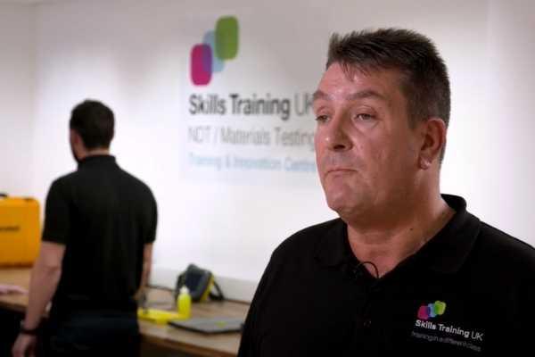 Skills training UK Stephen Crawley